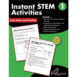 Gr1 Instant Activities Workbook Stem, CTP8193