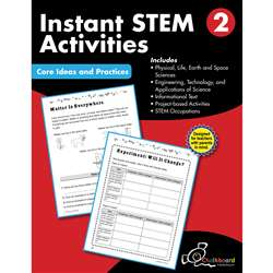 Gr2 Instant Activities Workbook Stem, CTP8194