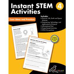 Gr4 Instant Activities Workbook Stem, CTP8196