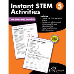 Gr5 Instant Activities Workbook Stem, CTP8197
