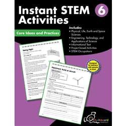 Gr6 Instant Activities Workbook Stem, CTP8198