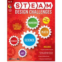 Grade K Steam Design Resource Book, CTP8207