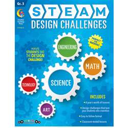 Grade 3 Steam Design Resource Book, CTP8210