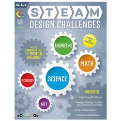 Steam Design Challenges Grades 6-8, CTP8213