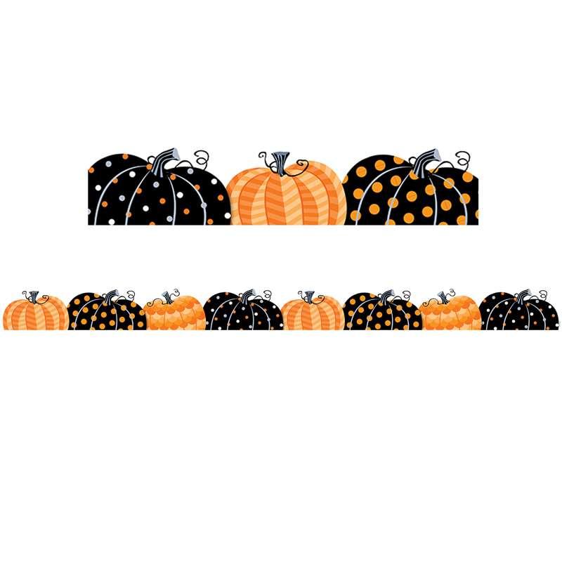 Pumpkin Patch Border CTP8405 Creative Teaching Press Border/Trimmer ...