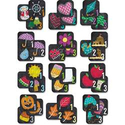 12Pk Chalk It Up Yr Round Calendar Seasonal, CTP8513
