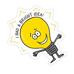 So Much Pun Bright Idea Badge, CTP8532