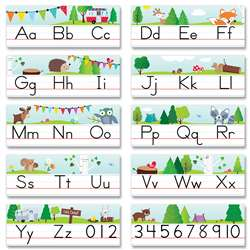 Woodland Friends Alphabet Line, CTP8597