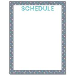 Calm & Cool Schedule Chart, CTP8635