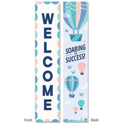 Calm & Cool Welcome Bannner 2-Sided, CTP8640