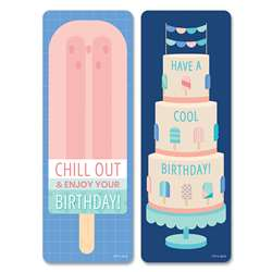 Calm & Cool Happy Bday Bookmarks, CTP8646