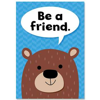 Be A Friend Woodland Friends Inspre Poster, CTP8692