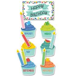 Color Pop Birthday Mini Bulletin Board St, CTP8698