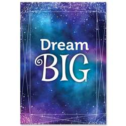 Dream Big Mystical Magical Inspre U Poster, CTP8711