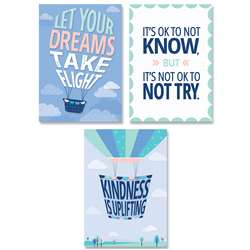 Calm & Cool Inspire U 3-Poster Pack, CTP8745