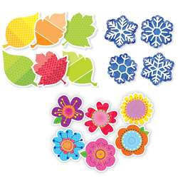 "3 Seasons 6"" Cut-Outs Pack, CTP8900"
