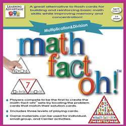 Math Fact Oh Multiplication & Division, CTU2167
