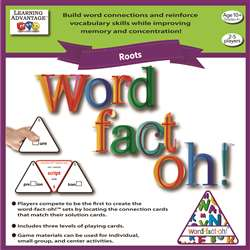 Word Fact Oh Roots Game, CTU2192
