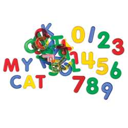 Letters & Number Set Mini Jar Transparent, CTU56500