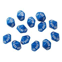 Place Value Dice Hundreds 12 Set, CTU7304