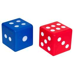Jumbo Foam Dice Set Of 2, CTU7317