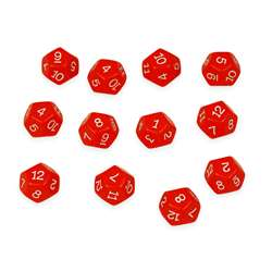 12 Sided Polyhedra Dice, CTU7341