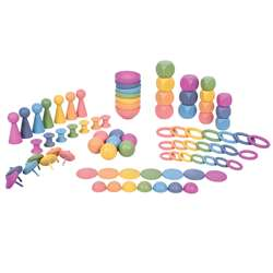 Rainbow Wooden Super Set, CTU73979