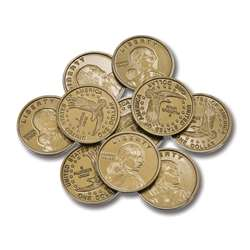 Dollar Coins Set Of 50 By Learning Advantage