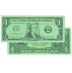 $1 Bills Set 100 Bills By Learning Advantage