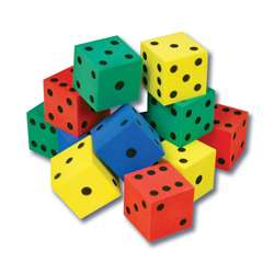 Foam Dot Dice, CTU7631