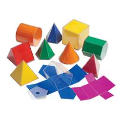 Folding 3-D Geofigures 10Cm By Learning Advantage