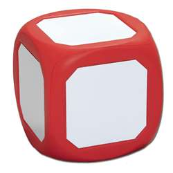 Magnetic Write-On Wipe-Off Die Red By Learning Advantage