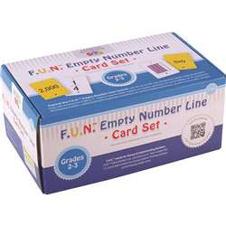 Fun Empty Number Line Cards Only Gr 2-3, CTU7984