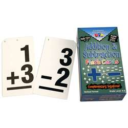 Double Value Vertical Flash Cards Addition Subtraction By Learning Advantage