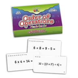 Order Of Operations Flash Cards, CTU8691
