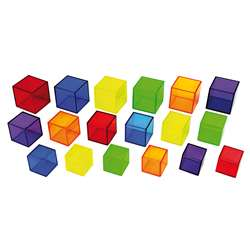 Translucent Cubes Set Of 54, CTU9245