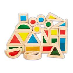 Rainbow Blocks Set Of 24, CTU9360