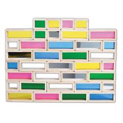 Rainbow Bricks Set Of 36, CTU9361