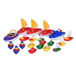 Water Play Boats Set Of 20, CTU9471