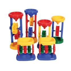 Sand Water Play Spinners Set Of 6, CTU9473