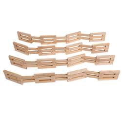 Wooden Fences Set Of 4, CTUFF920