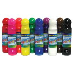 Crafty Dab Window Paints & 10/Pk Window Writers By Crafty Dab
