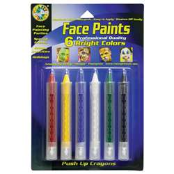 Crafty Dab Push-Up Face 6 Pk Paints Bright By Crafty Dab