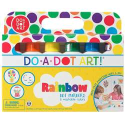 Do-A-Dot Markers Rainbow Pack 6 Cnt By Do-A-Dot Art