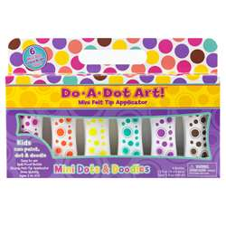 Mini Do A Dots Markers 6Pk Island Bright By Do-A-Dot Art