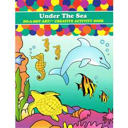 Sea Animals Activity Book By Do-A-Dot Art