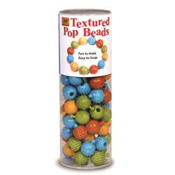 Textured Pop Beads 100 Ct Tube By The Pencil Grip