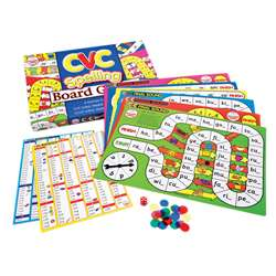 Cvc Spelling Board Games By Didax