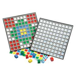 Unifix Hundred Number Grid Tray By Didax