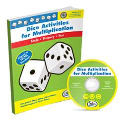Dice Activities For Multiplication Resource Book Gr 3-6 By Didax